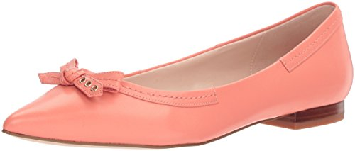 Cole Haan Womens Alice Bow Skimmer Pointed Toe Flat