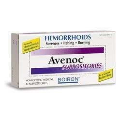 Boiron Avenoc Suppositories - Boiron Avenoc 12 Ct