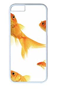 iPhone 6 Case and Cover -Goldfish3 Polycarbonate Hard Case Back Cover for iPhone 6 White