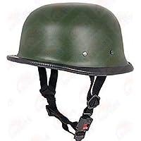 Andride German Style Half Helmet (Matty Green)