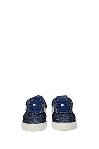 Valentino Garavani Sneakers Damen - Glitter (0s0e19pej) Eu Blau