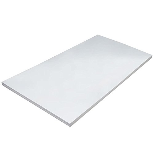 TableTop King 5296 36'' x 24'' Medium Weight White Tagboard - 100/Pack by TableTop King