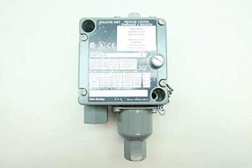 ALLEN BRADLEY 836T-T253J Pressure Control 1/4IN 12-150PSI 120-600V-AC SER A