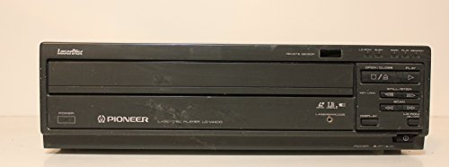 Pioneer LD-V4400 Laser Disc Player LD Player Laser Barcode Compatible