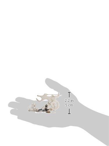 1 x Ruffler prensatela de máquina de coser de pie - se adapta a todos los baja vástago carcasa, hermano, Babylock, Husqvarna Viking (Husky Series), ...