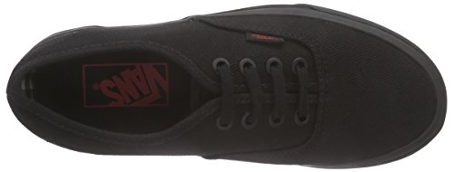 Vans Authentic - Zapatillas, Unisex adulto Negro (twill & Gingham/black/black)