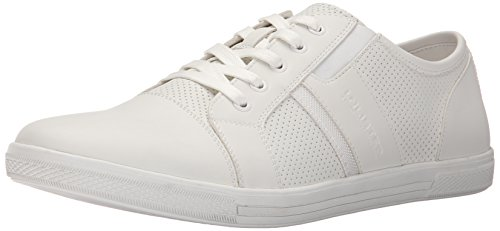 Kenneth Cole Unlisted Men's Shiny Crown Fashion Sneaker, White, 10.5 M US