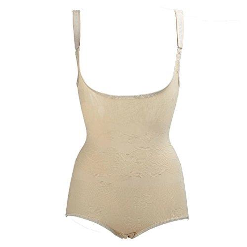 ded6037bae67ce Moresave Damen Formende Bodys Taille Trainer Abnehmen Shapewear Korsetts  Bauch Kontrolle Nude cV9Pt33PNr ...
