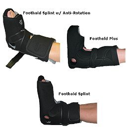 WAFFLE FootHold Splints - #3 Max Foot Size: Medium, Shoe Size: Length 10, Women's 8-9, Men's 7-8 by Sammons Preston by Rolyn Prest