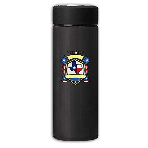 Don't Mess with Texas State Longhorn Star Business Scrub Thermos Cup Stainless Steel Vacuum Thermos Flask Keeps 18 Hours Hot 13 Oz - Thermos Steel Stainless Texas Longhorns