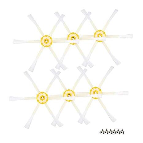 FinukGo 6 Accesorios de aspiradora de Robot de Barrido con ...