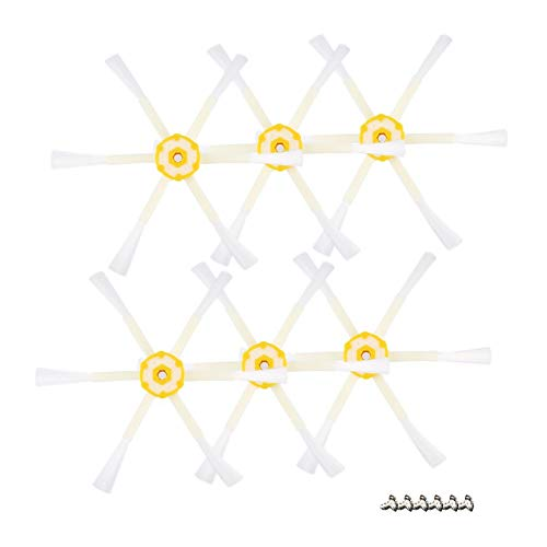 FinukGo 6 Accesorios de aspiradora de Robot de Barrido con Cepillo ...