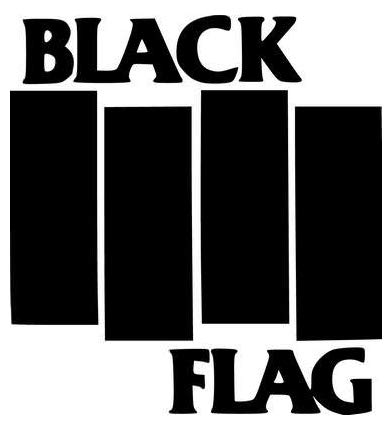 Black Flag Rock Band - Sticker Graphic - Auto, Wall, Laptop, Cell, Truck Sticker for Windows, Cars, Trucks