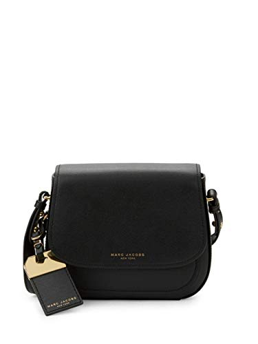 Marc Jacobs Rider Leather Crossbody Bag (Black)
