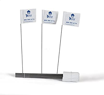 Electric Dog Fence Boundary Flags for Training Your Dog on Your eXtreme Dog Fence or Other Underground or Wireless Pet Fence System