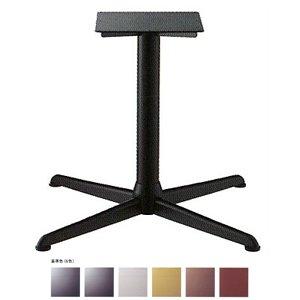 e-kanamono テーブル脚 コルサエルS2900 ベース640x640 パイプ76.3φ 受座350x350補強付 基準色塗装 AJ付 高さ700mmまで 黒メラ焼塗装 B012CF0HYO 黒メラ焼塗装 黒メラ焼塗装