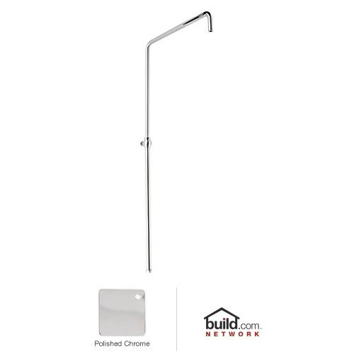 Rohl 1565APC Country Bath Swiveling Riser with Hand Shower Hose and Parking Bracket, Polished Chrome (Bracket Hand Shower Parking)