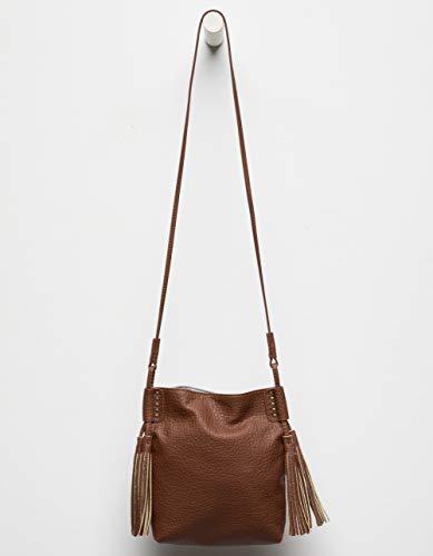 Tassel Tassel Cognac Bag Cognac Crossbody Bag Crossbody Tassel Crossbody Bag ZWntYfqf