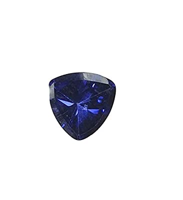 Triangle Synthetic Sapphire Blue Facet 5mm by uGems