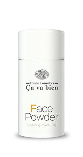 CAVABIEN Face Powder Gentle Foam Cleanser Korean Natural Facial Wash Vitamin C Men Women Teens Babies Sensitive Acne Aging Dry Oily Combo Skin 70 grams