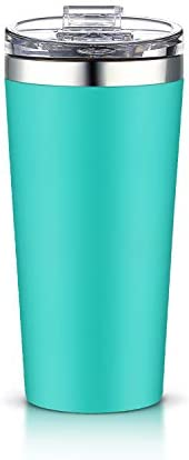 AA Products Tumbler Vacuum Double Walled School Blue product image