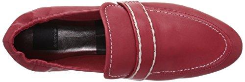 Vita Flat Dolce Fraser Women's Leather Red Loafer BwqO7qx6
