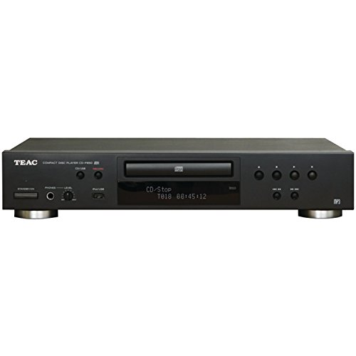 TEAC CD-P650-B Compact Disc Player with USB and iPod Digital Interface (Black) (Best Cd Player For Home)