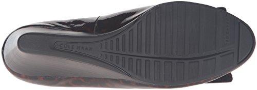 Bow Grand Tortoise Print Wedge Cole Pump Haan Tali Patent Womens aT7n0IW8