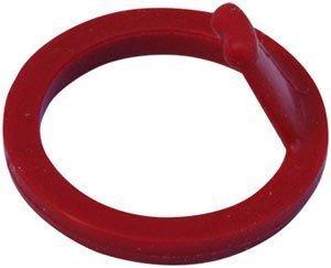 ISI Ersatzteil Kopfdichtung rot mit Entnahmelasche für Sahnezubereiter GW Plus und TW Plus