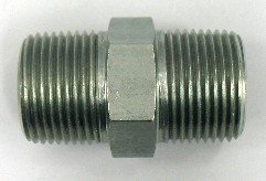 AF C3069-04-04-1/4 Male Pipe (.540''-18 Threads) X 1/4 Male Pipe (.540''-18 Threads) Nipple