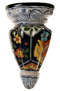 Talavera Long Wall Planter - 15.25'' Long