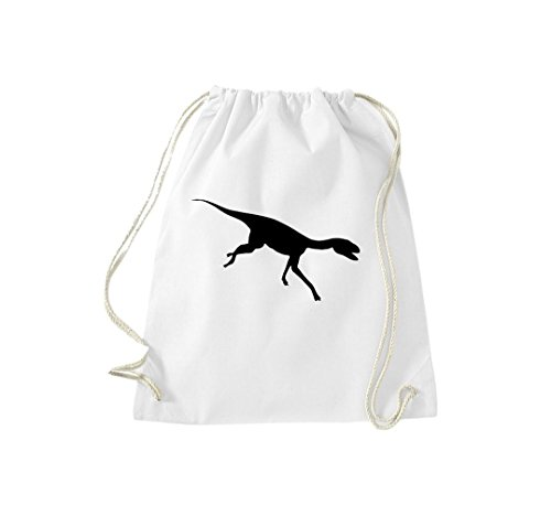 Krokodil - Bolso de tela de algodón para mujer Blanco - blanco