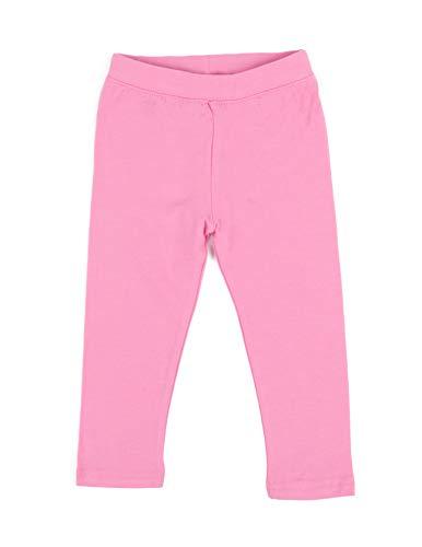 Leveret Solid Girls Legging Pink (8 Years)