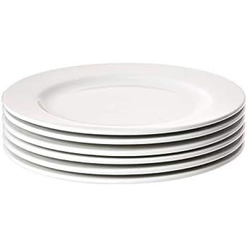 Amazon Com Tuxton Home Concentrix Dinner Plate Set Of 4