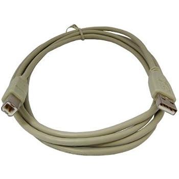 Amazon.com: 1,8 m Cable USB para impresora Brother HL-2170 W ...