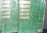 1993 FORD EXPLORER RANGER AEROSTAR Service Shop Repair Manual Set 2 VOLUME OEM