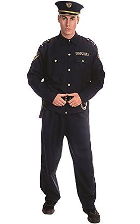 Dress up America - Disfraz de policía para adultos, talla S (330-S ...