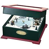 Crosley White Christmas Music Box