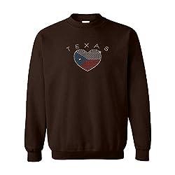Rhinestone Flag Unisex Sweatshirt