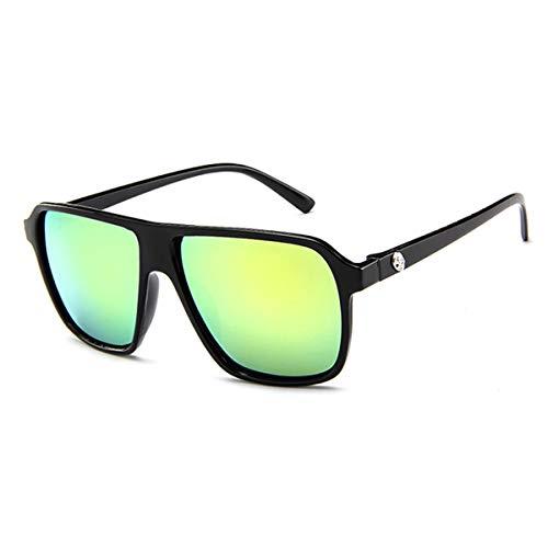 C KOMNY Hombres Hombres F Oculos de Unisex Aluminio de Marca de Sol de Hombres HD Espejo UV400 Gafas para Sol Sol Mujeres Clásica Gafas Polarizado pFSwqAp