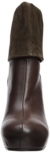 Vic's Vic Women's Fold-Down Wedge Boot Chiwawa Yorkshire Dark Brown lowest price sale online YDSR9