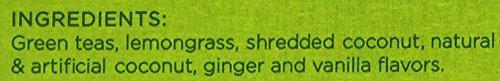 Harney & Sons Green Tea with Coconut, Ginger and Vanilla, 30 Sachets, 2.67 oz (75 g) 2 Fine Teas Master Tea Blenders Green Tea with Thai Twist