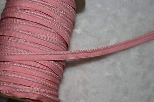 5 Yards Baby Pink Lip Cord Piping Reflective Upholstery Trim 1/8