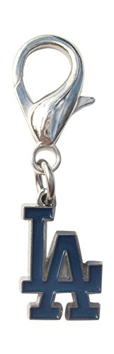Pewter La Dodgers Baseball - Diva-Dog Los Angeles Dodgers Licensed Dog Collar Charm