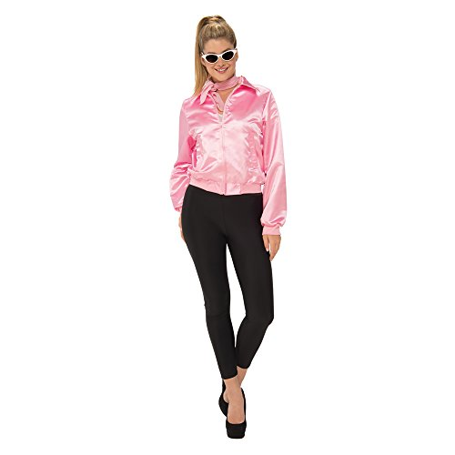 Pink Ladies Costume From Grease (Rubie's Costume Co. Women's Grease, Pink Ladies Costume Jacket, As Shown, Small)