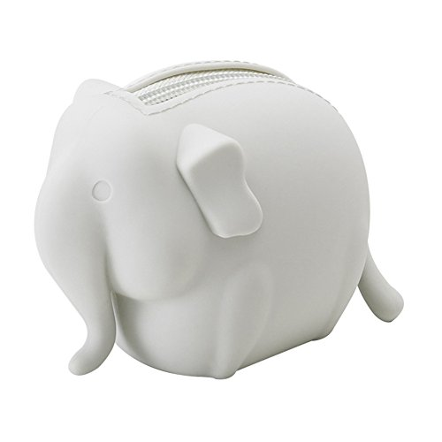 Fda Food Grade Silicone Cute Animal Shaped Coin Purse Storage Bag Durable And Eco Friendly  Domineering Lady Elephant