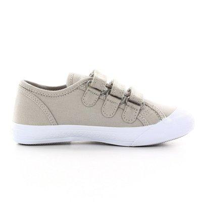 Le Coq Sportif Chronic Deauville Plus Ps Strap, Sneaker Baja Infantil Grigio (Beton)
