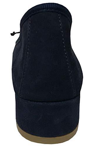 Made Daim En Hauts Recouvert Mod Class Upper Italy 100 In Bleu 5 Cm Romy Ballerine Talons Femme Cuir 3 RqwfWBZ4