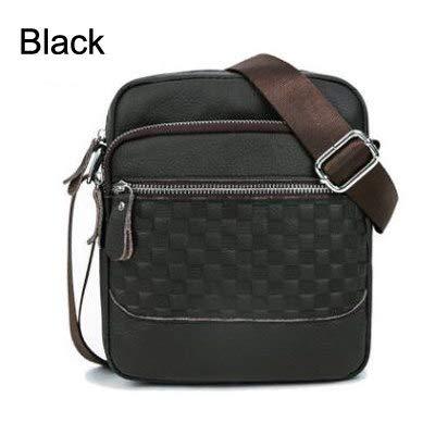 5b68672b7 Amazon.com: Brand Men Shoulder Bags Messenger Sling Bag Man Satchels Handbags  Genuine Leather Designer Crossbody HN313: Kitchen & Dining