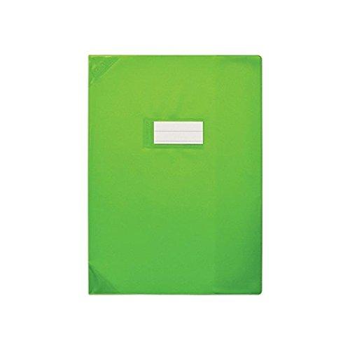 Elba–Set di 3protège-cahiers PVC 150STRONG Line 17x 22cm opaco verde